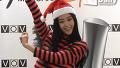 귀여운 산타로 변신한 클라라