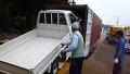 컨테이너 박스 트럭 5대 넣는 법