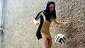최고 반전 축구 스킬 쩌는 여자