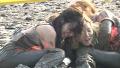 소녀시대, 갯벌 처참한 전투