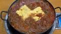 고기로 뒤덮인 활화산 부대찌개