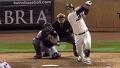 투수 강판 시킨 131m 대형 홈런