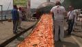 상상초월 세상에서 가장 긴 피자