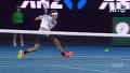 테니스 하랬더니 예술을 하는 로저 페더러 / 3세트 5게임 [2017 호주 오픈] [2017 호주 오픈 테니스] 20170124