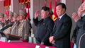 [현장영상] 북 열병식에 '핵배낭' 마크 보병부대 또 등장