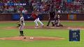 '관중들은 기립박수' 추신수 선취 1타점 적시 2루타 / 3회말 [MLB]