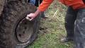 바람빠진 타이어 순간 복구영상