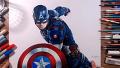 캡틴 아메리카 - 마카&색연필 손그림 | 드로우홀릭