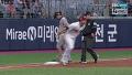 '찬스 무산' 김태균 삼진 이후 이용규 도루실패 / 5회초