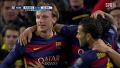 [UEFA 챔피언스리그] 바르셀로나 vs AS 로마 수아레스 감탄 나오는 파워풀한 논스톱 멀티골 / 전반 44분_20151125