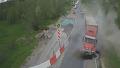 842.대형 화물차의 위험한 질주 사고 영상