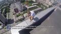 40층 건물 꼭대기에서