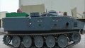 방위성 기술연구본부 하이브리드 시험차량 (배터리 모드 전진)