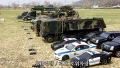 RC 야전 탱크수송 & 경호헬기 투입