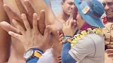 걸리버족과 손 비교