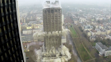 116m의 건물이 무너지는 순간
