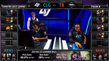 The 2015 LCS NA Spring Split 1주차 5경기 CLG vs T8