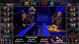 The 2015 LCS EU Spring Split 1주차 9경기 FNC vs H2k