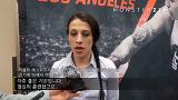 UFC 184 조아나 옌드르제칙 인터뷰