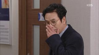 """박찬환, 병원에서 본 양미경에 """"날 보진 않았겠지?"""" [빛나라 은수] 40회 20170123"""