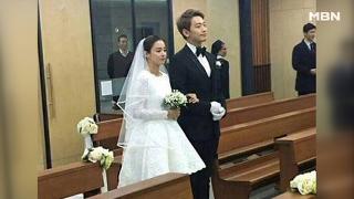 '직접' 만든 드레스 입고! 비♥김태희 스몰웨딩  [연예 픽(Pick)] 20170120