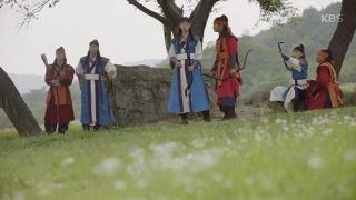 궁마 배우는 신라 지킴이 화랑! [화랑] 10회 20170117