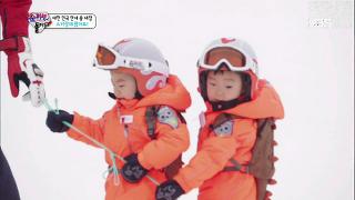 스키장에 온 삼둥이, 송썰매에 송일국 '체력방전'[슈퍼맨이 돌아왔다] 20150118 KBS