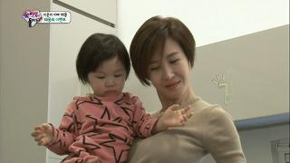 엄태웅의 깜짝 이벤트, 윤혜진 눈물 '울보가족' [슈퍼맨이 돌아왔다] 20150125 KBS