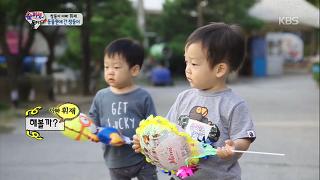 동물원에 간 서언&서준이, 동물들이 다 '신기' [슈퍼맨이 돌아왔다] 20141026 KBS