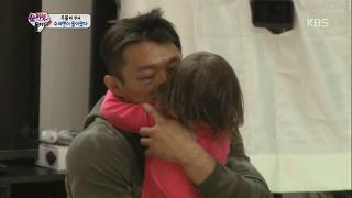 추성훈을 위한 시호-사랑의 스케치북 이벤트 [슈퍼맨이 돌아왔다] 20141012 KBS