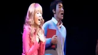 제시카, 뮤지컬 공연하는 모습