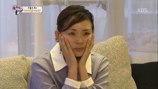 야노시호, 추성훈 경기 지켜보다 '눈물'바다 [슈퍼맨이 돌아왔다] 20141012 KBS