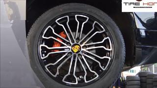 포르쉐 카이엔 918 스파이더 20인치 포르쉐휠 카이엔휠 타이어홍 잠실 송파