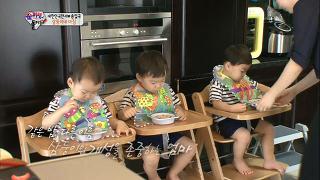 삼둥이와 엄마가 함께하는 평화로운 아침 [슈퍼맨이 돌아왔다] 20140914 KBS