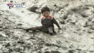 만쩨의 갯벌 완벽적응, 대한&민국은 '시큰둥' [슈퍼맨이 돌아왔다] 20140921 KBS