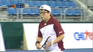 테니스에 천재적인 감각 보여