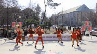 여대생들의 화려한 춤실력