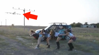 춤추다가 믿을 수 없는 일이!