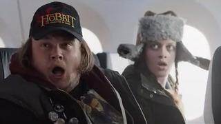 비행기에서 이런 안내 받으면