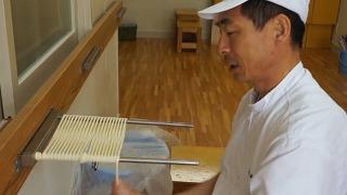 일본의 장인이 우동 만드는 법