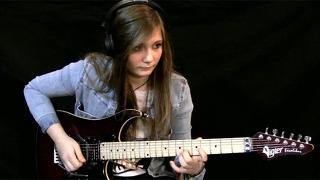 15세 소녀 진짜 기타로. . 대단해