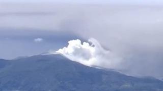 일본, 심상치 않은 화산 폭발