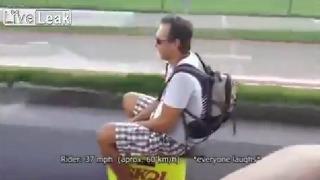 브라질 도로의 무법자 등장