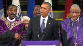 미국 감동시킨 오바마 리더십