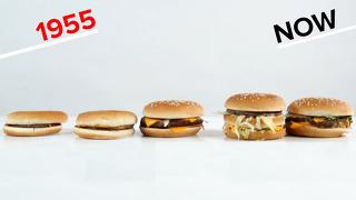맥도날드 메뉴 이렇게 변했어?
