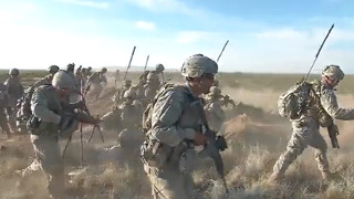 실전 방불케한 미 육군의 훈련