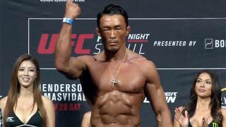 UFC 서울, 강렬한 파이터의 눈빛