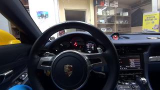 포르쉐 911카레라 4s의 카오디오 시스템이 또 한층 더 업그레이드? 부산 CB와 함께하는 포르쉐 튜닝기!