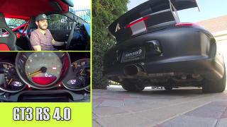 포르쉐 911 GT3 RS, 포드 머스탱 GT350, 콜벳 Z06 간지 사운드!