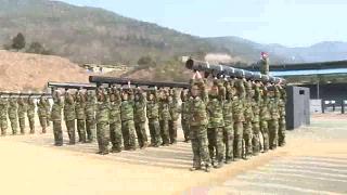 해군병 638기 의경 378기 3주차훈련 동영상